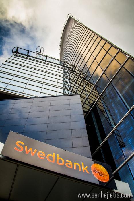 Saules akmens – Swedbank arhitektūra