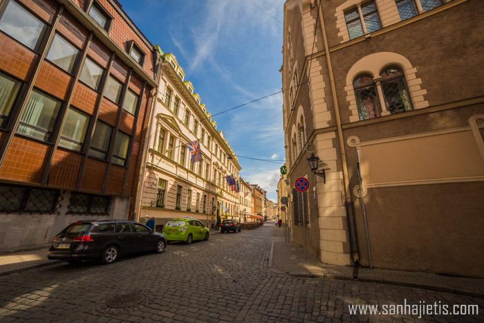 Vecrīgas arhitektūra tūrista acīm
