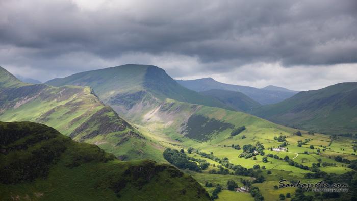 Ceļojums Apvienotās karalistes Lake District ārēs