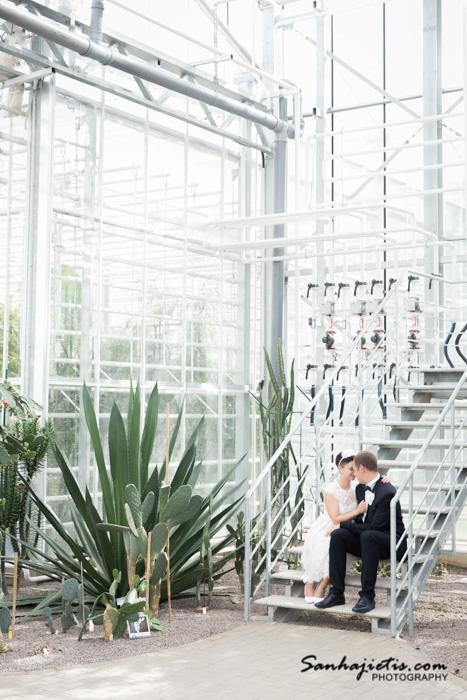 Nacionālais botāniskais dārzs ir vieta fotosesijai pēc kāzām