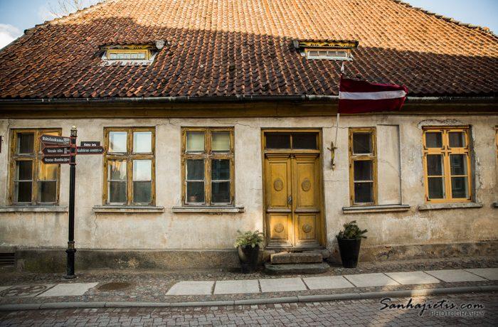 Kuldiga vecpilsetas ēka