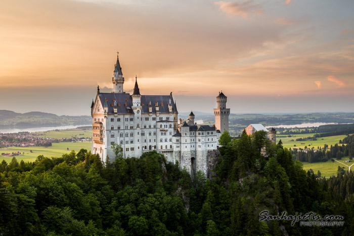 Vācijas Neuschwanstein pils