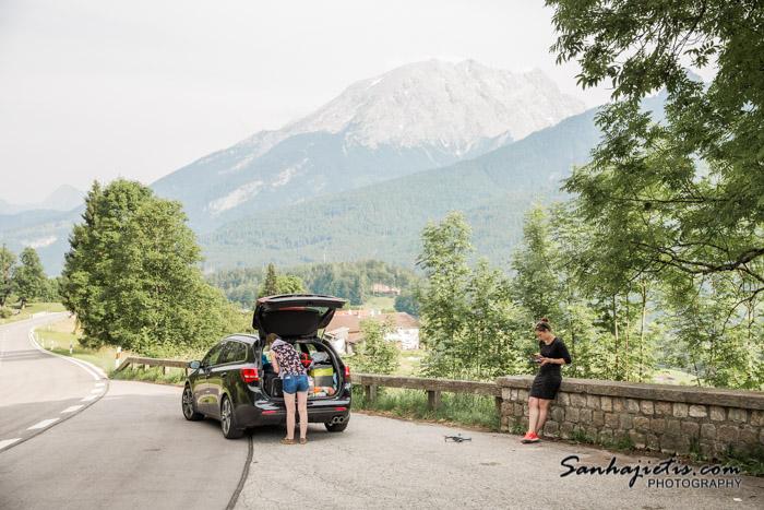Vācijas Alpu ceļu nomales