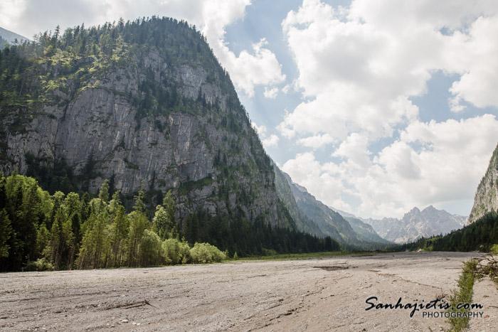 Wimbachklamm – kalnu upe Wimbach Vācijā