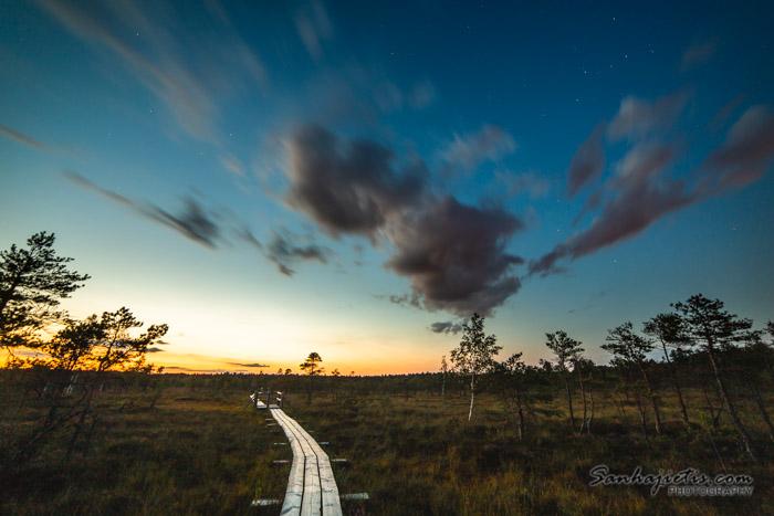 Ķemeru nacionalais parka taka pie Jūrmalas
