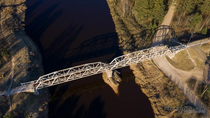 Valmieras jājēju tilts