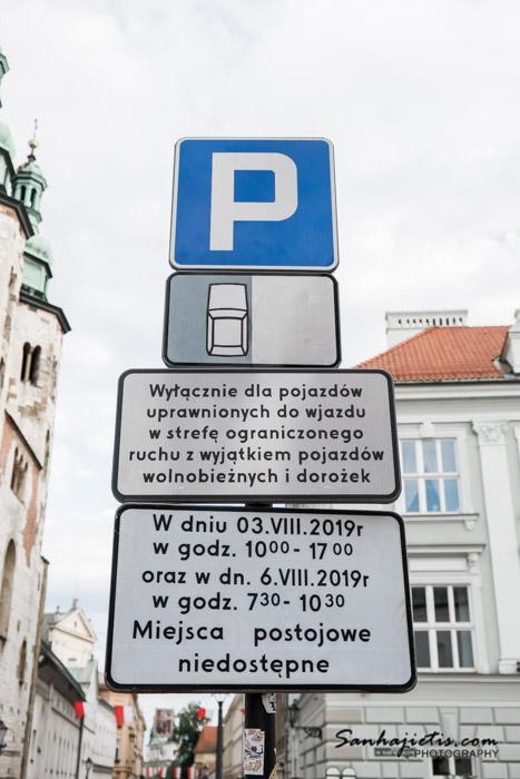 Krakova ceļa zīmes