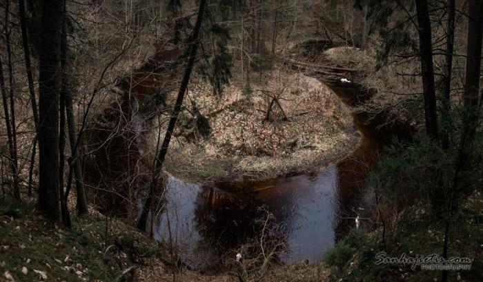 Gar Lojas upi līdz Gaujai