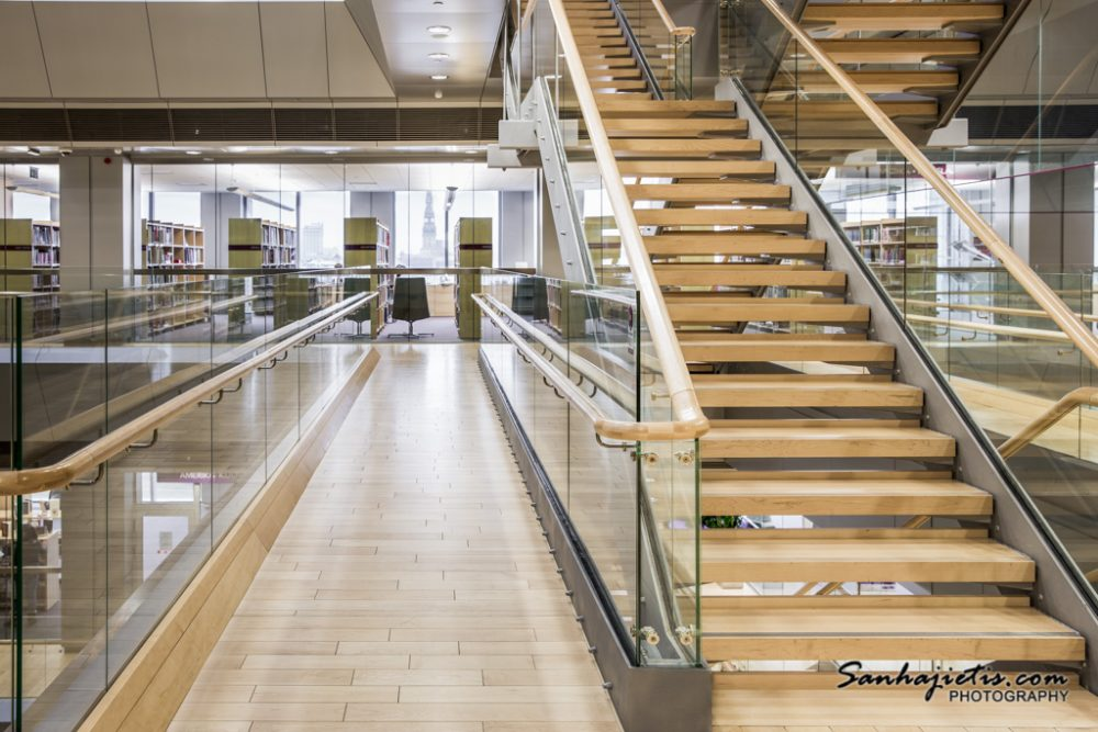 Latvijas Nacionala bibliotēkas iekspuse