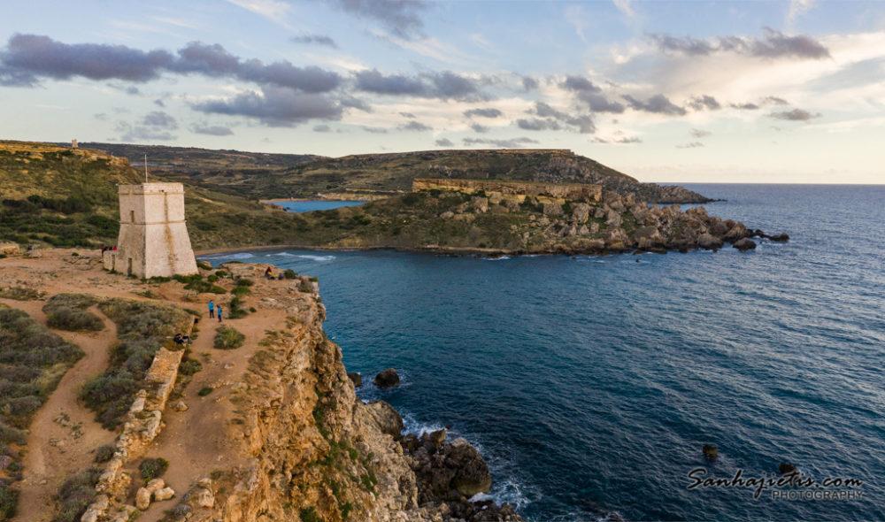 Malta saulrietā